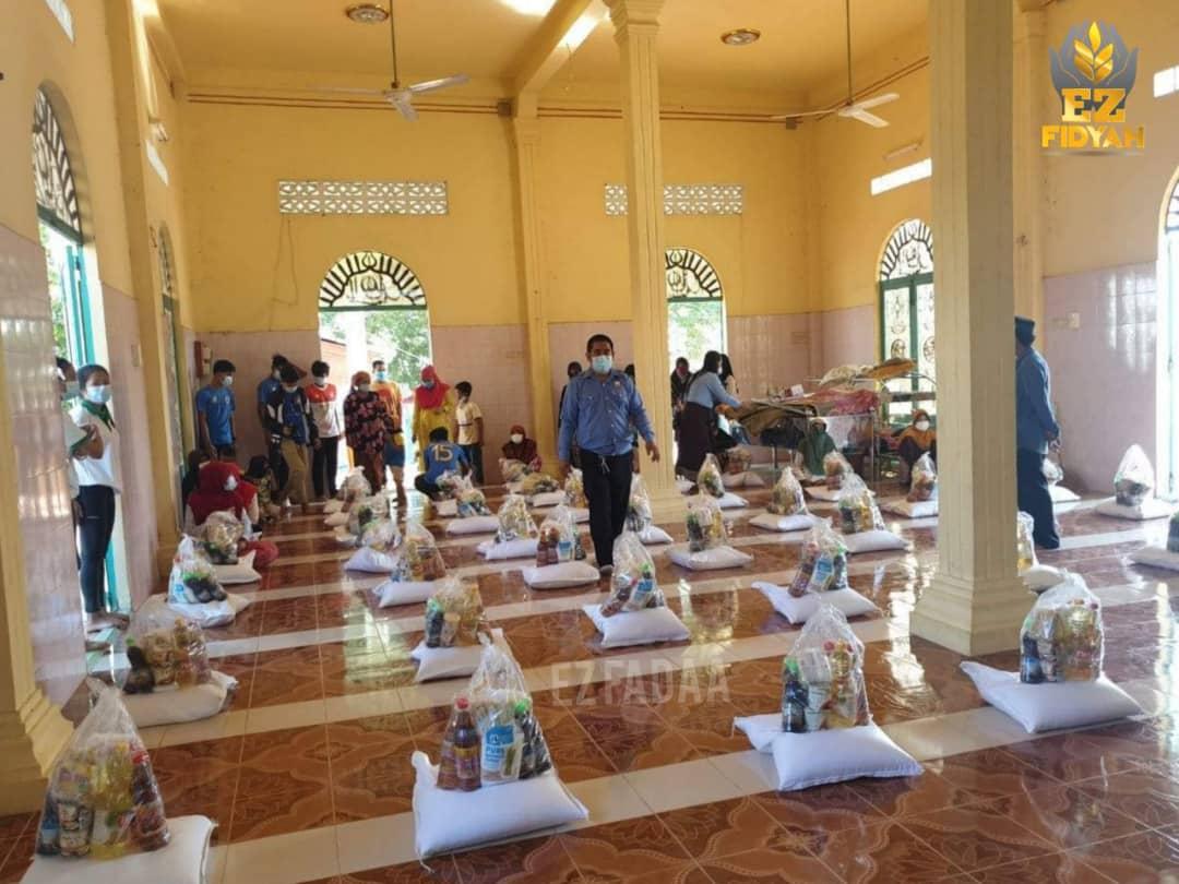 Bantuan mangsa banjir Kemboja